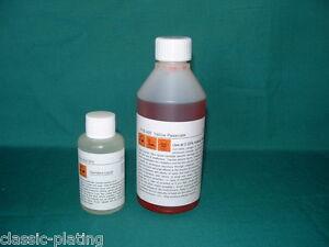 Details about Yellow Zinc Passivate 9 ltr for Cadmium Zinc Plating Kit  finish electroplatin P1