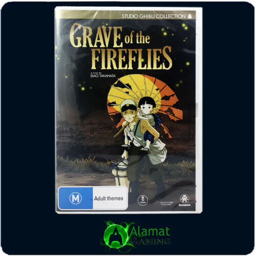 1 of 1 - Grave Of The Fireflies (DVD) 2 Disc - Brand New & Sealed - Free Post - Anime