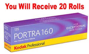 20-Rolls-Kodak-Portra-160-35mm-Film-135-36-ISO-160-Color-Negative-FRESH-07-2020
