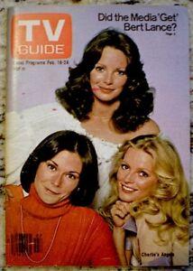 TV Guide 1978 Charlie's Angels Kate Jackson Jaclyn Smith Cheryl Ladd MINT COA