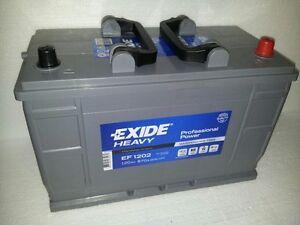 exide autobatterie 12v 120ah 120 ah typ ef 1202 mercedes. Black Bedroom Furniture Sets. Home Design Ideas