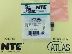 NTE Electronics NTE398 Silicon PNP Transistor TV Vertical Output 200V Inc.