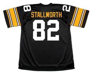 c72707e6446 Image is loading JOHN-STALLWORTH-Pittsburgh-Steelers-1979-Throwback-Home-NFL -