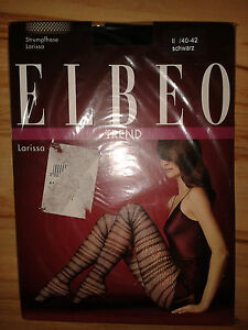 e13250e317b67 Details zu Elbeo Larissa Strumpfhosen Gr. 40-42, schwarz