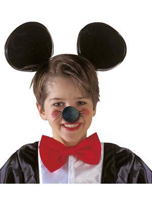 schwarze Schaumstoff Nase Maus Karneval Karneval