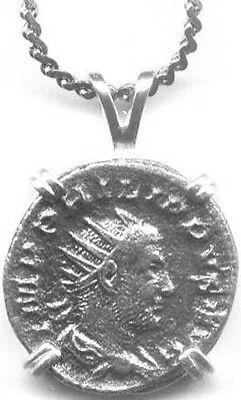 """Silver Roman Denarius (Coin) Emperor """"Philip the Arab"""" + Legionary Dragon AD248"""