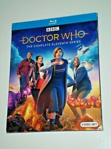 DOCTOR-WHO-The-Complete-Eleventh-Series-3-Disc-Set-BLU-RAY-034-like-new-034
