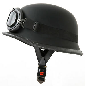 Gotcha-Paintball-Swat-Tactical-Helm-Stahlhelm-Wehrmachts-Style-mit-Brille
