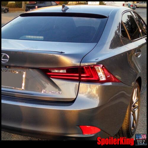 Rear Roof Spoiler Window Wing Fits: Lexus IS250 IS350 2014-on XE30 SpoilerKing