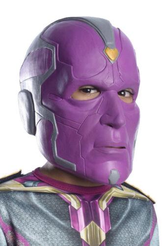 Captain America Civil War Vision 3//4 Child Mask Marvel Comics Rubies 32897