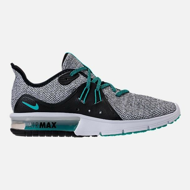 8047281cca8 Nike Air Max Sequent 3 Men s Running Shoes White hyper Jade black 921694  100 for sale online