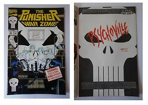 The-Punisher-War-Zone-12-Marvel-Comics-Febbraio-1993-Psychoville