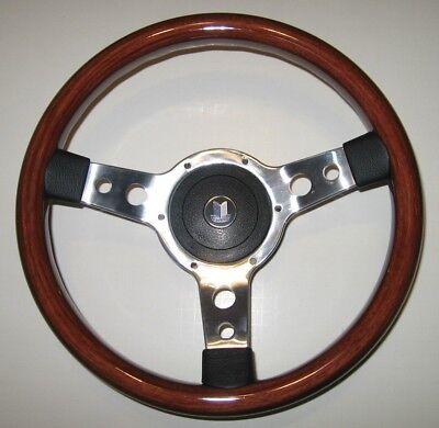 """all years Fits GT6 13/"""" Classic Vinyl Steering Wheel /& Hub"""