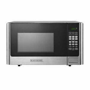 Black And Decker 900 Watt 0 9 Cubic Feet Counter Microwave