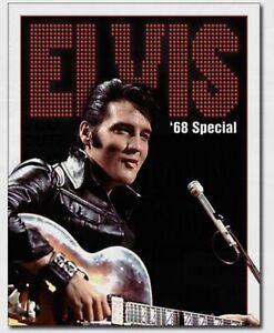 Elvis on Motorcycle Music Elvis Presley The King Rock n Roll Musician Metal Sign