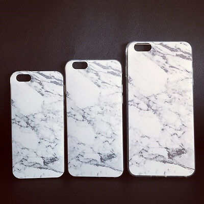 Fashion Creative Granite Marble Texture Soft TPU Phone Case For iPhone 5 6 PLUS