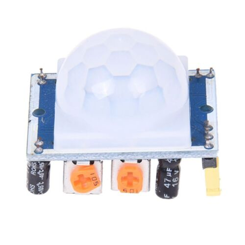 1X Weisses pyroelektrisches Infrarot PIR Bewegung-Sensor-Detektor-Modul G5G3