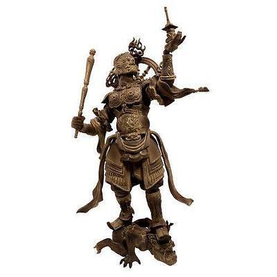 New Kaiyodo Takeya Revoltech Action Figure: #001 Tamonten Wooden Version