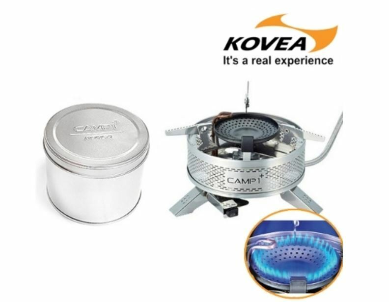KOVEA Camp1 Plus KGB-1608 Topntop Circle Power Hose Camping Hiking Cooking Stove