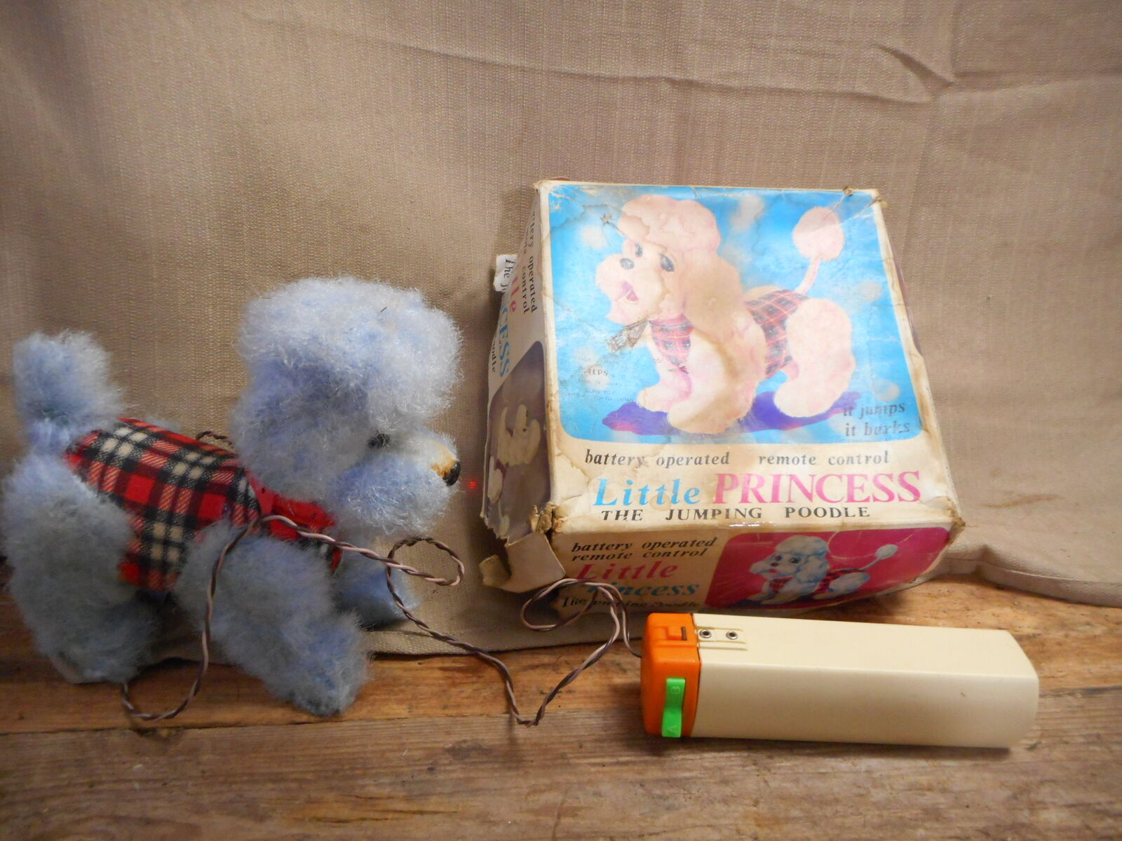 Little Princess Jumping Poodle Toy, Alps Toy, Orig Box, Very Clean, 6  Tall, OLD