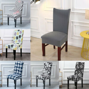 Swell Simple Chair Cover Hotel Wedding Banquet Elastic Slipcover Andrewgaddart Wooden Chair Designs For Living Room Andrewgaddartcom