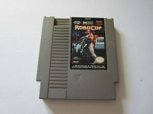 RoboCop Nintendo NES Cartridge Only Authentic CLEANED & TESTED 1989 Data East