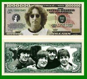 Set of 50 Factory Fresh Bills Elvis Presley Novelty Million Dollar Bill