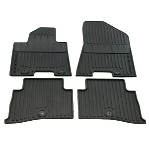 Oem New Front Rear Floor Mats All Weather Rubber 17 19 Sportage