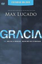 Gracia DVD Guía del lider y participante: Más que lo merecido, mucho más que lo