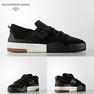 16920cd229ff adidas x Alexander Wang BBall Low Black NIB Fashion Walcking Shoes ...