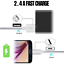 miniature 7 - 10FT Braided Micro USB Charger Cable Data Sync Charger Cord Android Samsung LG