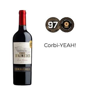 Château Croix d'Aumèdes Corbières 2018 Red Wine pack of 12
