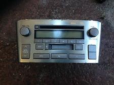 Toyota AVENSIS 2004 2.0 genuino y la unidad principal radio reproductor de casete #1