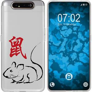 Case-for-Samsung-Galaxy-A80-Silicone-Case-Chinese-Zodiac-M1-protective-foils