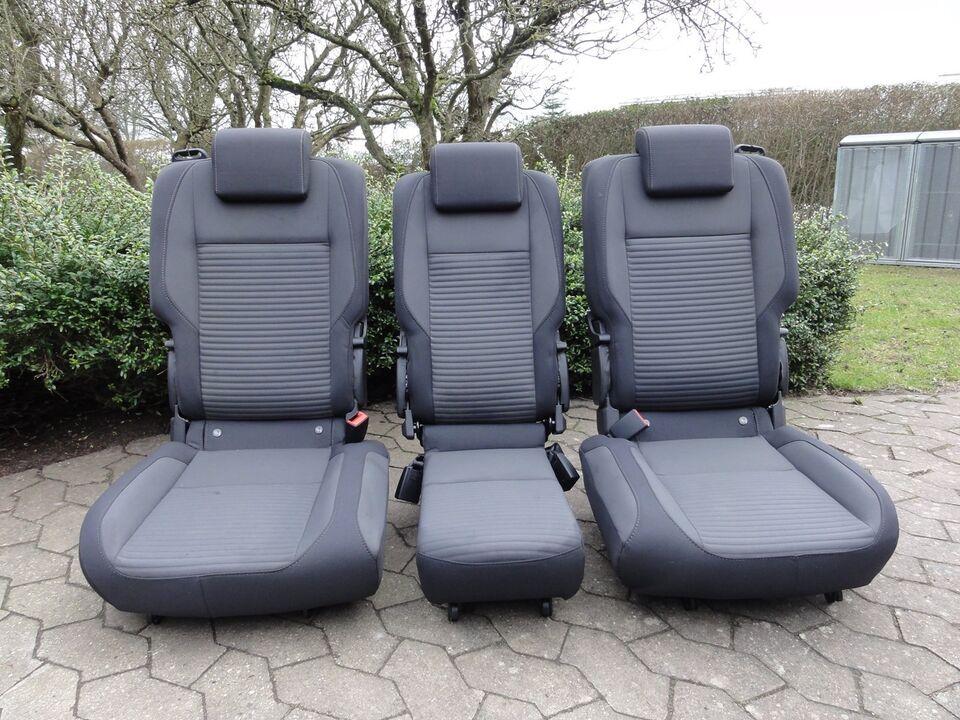 Sæde og seler, Bagsæder, Ford C-Max