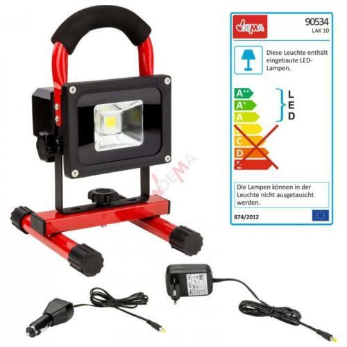 Projecteur de travail fonctionne sur batterie ou sur courant LAK 10 D90534