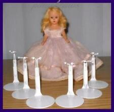 "5/"" Dolls fits size 3.5/"" Nancy Ann 12 Kaiser 1001 White Metal Doll Stands"
