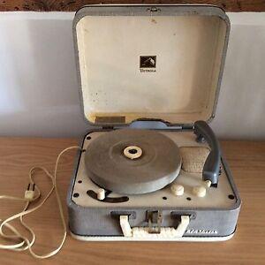 RARE-1956-Elvis-Presley-RCA-4-SPEED-VICTROLA-portable-record-player