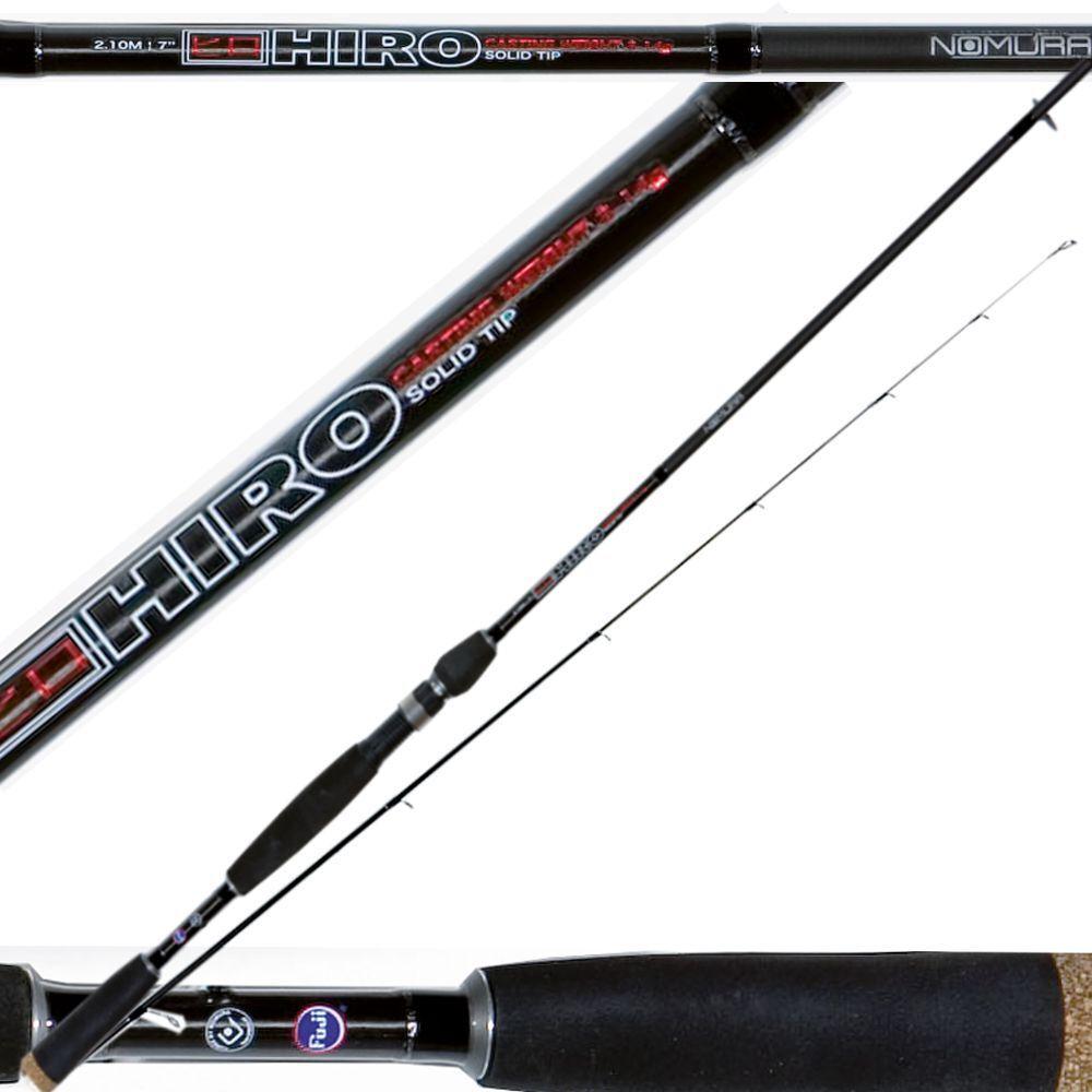 Canna da pesca spinning spin nomura hiro in carbonio da spin  PLE