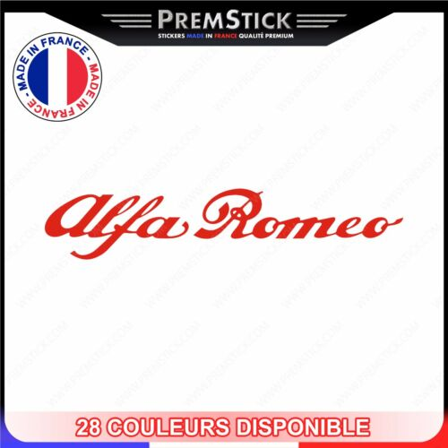 ref1 Stickers Alfa Romeo Sticker Auto Autocollant Voiture Logo Tuning