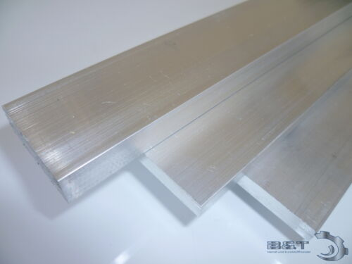 Flachstange  20x8 mm Aluminium AlMgSi0,5 Profil Aluprofil Flach Alu Stange