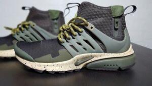 Nike Uk6 Presto Mid scarpe Sneakers Utility 200 Eu40 Air Men's 859524 PraOqAzPwU