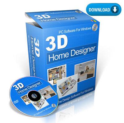 3d Home Design Planning For Kitchen Bathroom Software Download Ebay