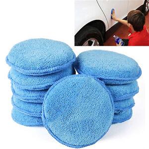 1pc-New-Microfibre-Foam-Sponge-Polish-Wax-Applicator-Pads-Car-Home-Cleaning-FO