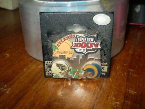 NFL 2000 Atlanta Super Bowl XXXIV Lapel/Hat Pin-St. Louis Rams vs. Titans