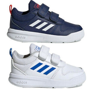 Adidas Infant Baby Boy Tensaur Shoes Leather Infants Trainers ...