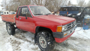 1986 toyota 4x4.     Trade or sell