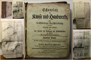 Schreber-Schauplatz-der-Kuenste-und-Handwerke-12-Bd-1773-Geschichte-Wissen-sf