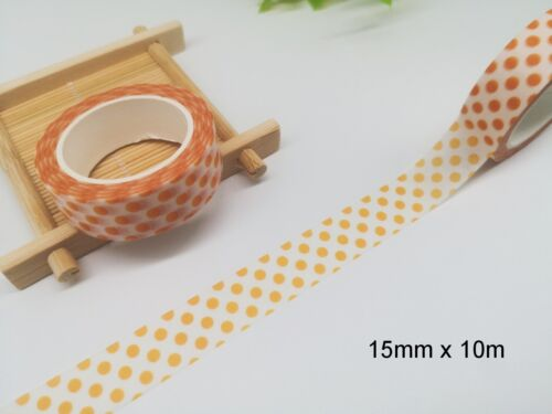 Washi Tape Polka Dots 15mmx10m MT420
