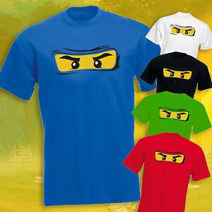 Details about Ninjago T-shirt Adults Ninjago